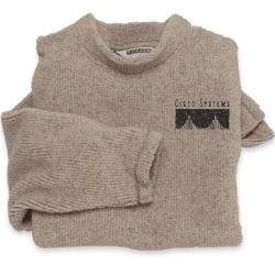 TRMILLER.com - Berber Fleece Mock Turtleneck Pullover - with your logo